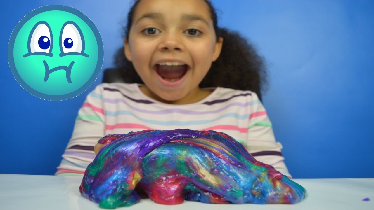 New Rainbow Labgoo Gooey Slime Kids Review Toys
