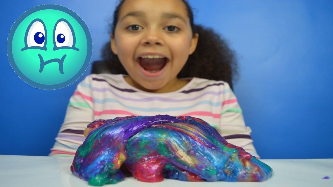 New Rainbow Labgoo Gooey Slime Kids Review Toys