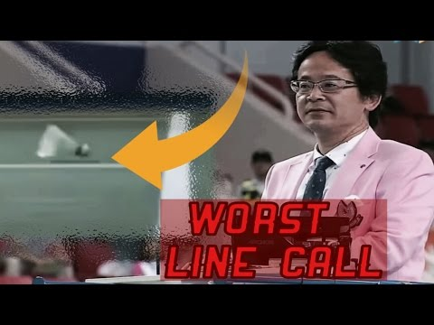 Thumbnail: Badminton WORST and RIDICULOUS Line Call [With Explanation] HD