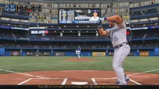 Tracky Vs. Jordan MLB 15 The Show: (PS4) Royals @ Blue Jays