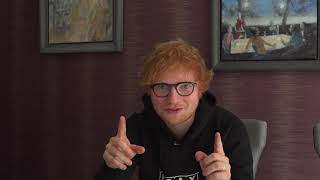 Ed Sheeran Has A Message For Us - South Africa Dates