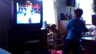 Beastly Wii Boxing Toddler