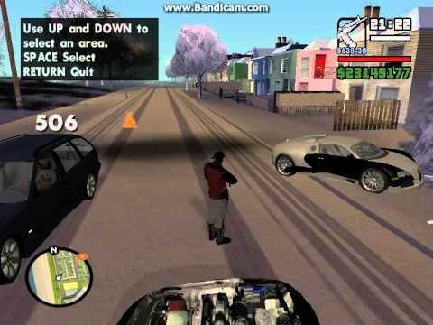 Police Ghost Riding A Bike On Gta San Andreas No Mod Or