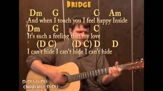 I Want to Hold Your Hand (The Beatles) Guitar Cover Lesson with Chords and Lyrics