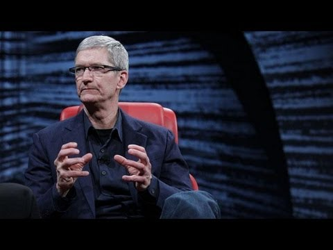 "Apple CEO Tim Cook: Patent Wars ""Pain in the Ass"" - D10 Conference"