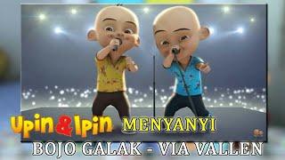 "Upin Ipin Parodi Lagu ""Bojo Galak"" [Lirik HD]"