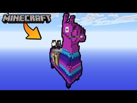 JAK POMÓC LAMIE FORTNITE w Minecraft ?