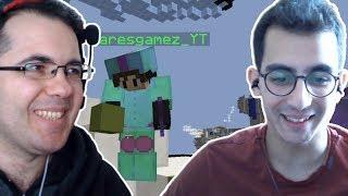 DOĞUKAN SERİN ile ÇİFT FACECAM EGG WARS (SÜPER MAÇ) | Minecraft Egg Wars