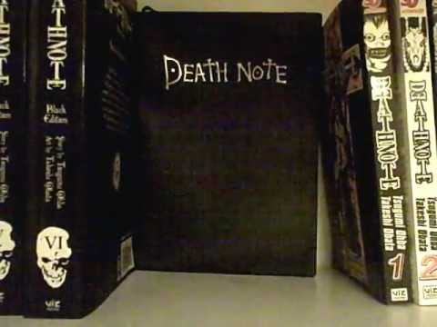 death-note:-unboxing/opening:-black-editions-volumes-1-6