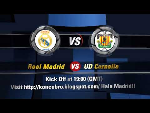 PREVIEW REAL MADRID VS UD CORNELLA - Created using Flixpress.com