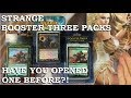 Weird MTG Promo Booster Three Pack | Worth Purchasing