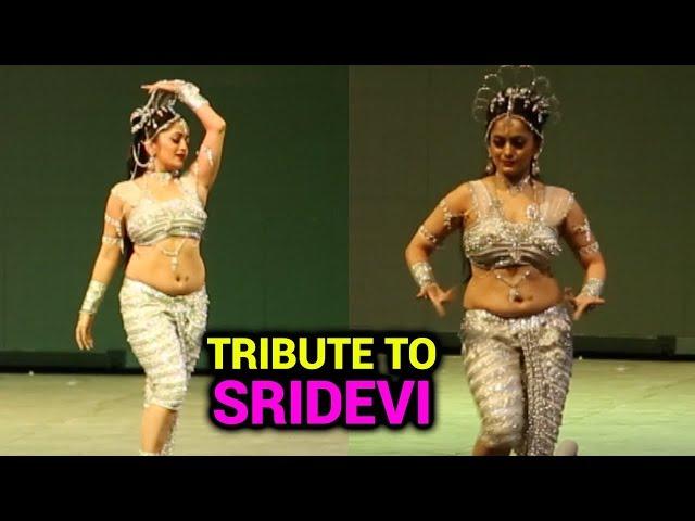 Mansi Naiks Tribute To Sridevi | Dance Performance on Naino Mein Sapna Song