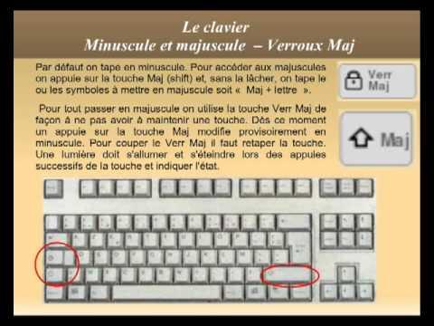 Apprendre les bases d 39 un clavier d 39 ordinateur doovi for Les parties du clavier
