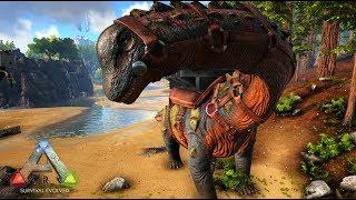 最強最大の恐竜「ティタノサウルス」を捕まえる! - ARK Survival Evolved ゆっくり実況 #21