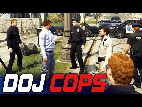 Dept. of Justice Cops #8 - Delivery Men (Criminal)