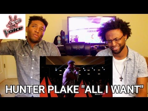 "The Voice 2017 Hunter Plake - Top 11: ""All I Want"" (REACTION)"