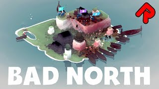 BAD NORTH gameplay: Beautifully Simple Roguelite Strategy! (Switch, Xbox, PS4, PC game)