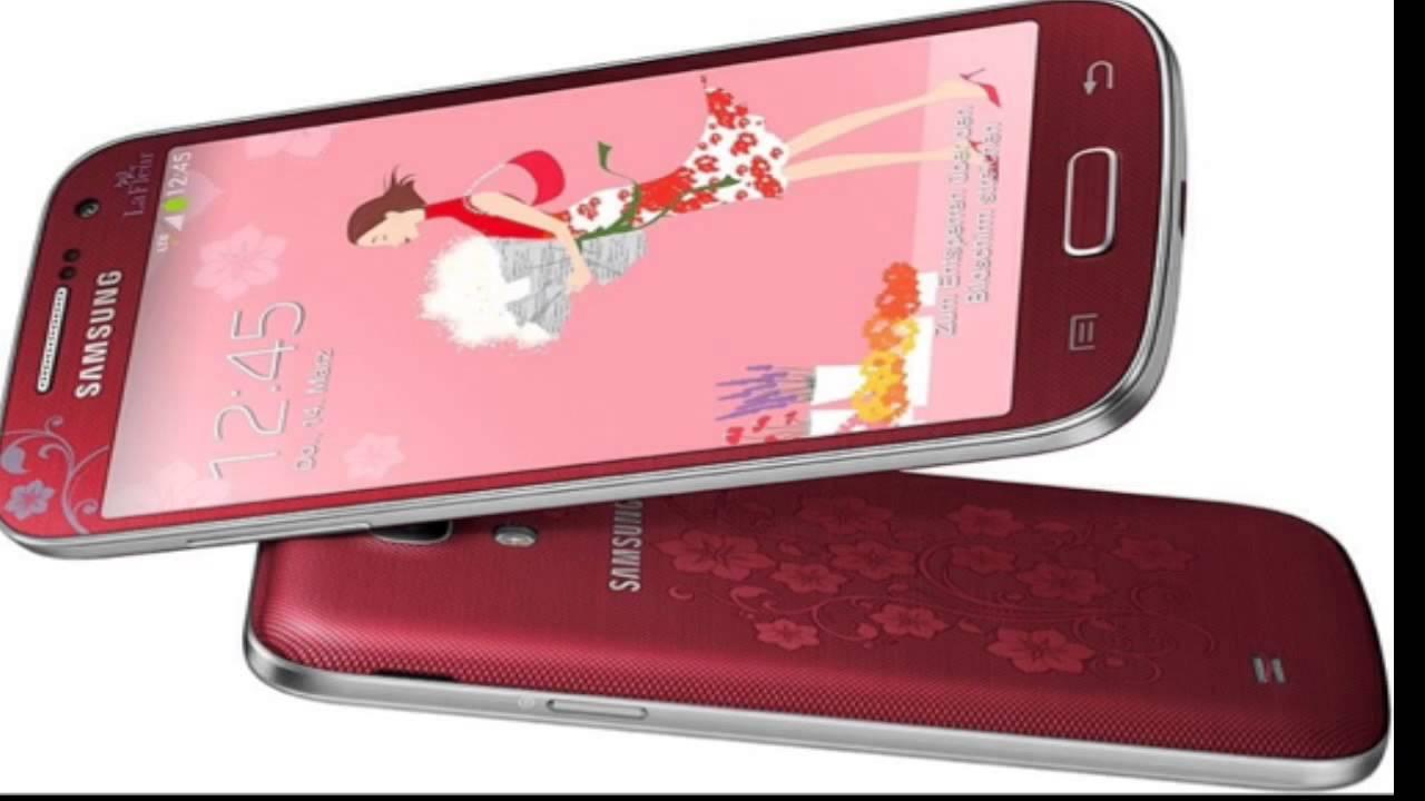 Samsung Galaxy S4 Mini La Fleur Edition Youtube