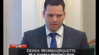 Derek Mombourquette on East Coast Music Awards