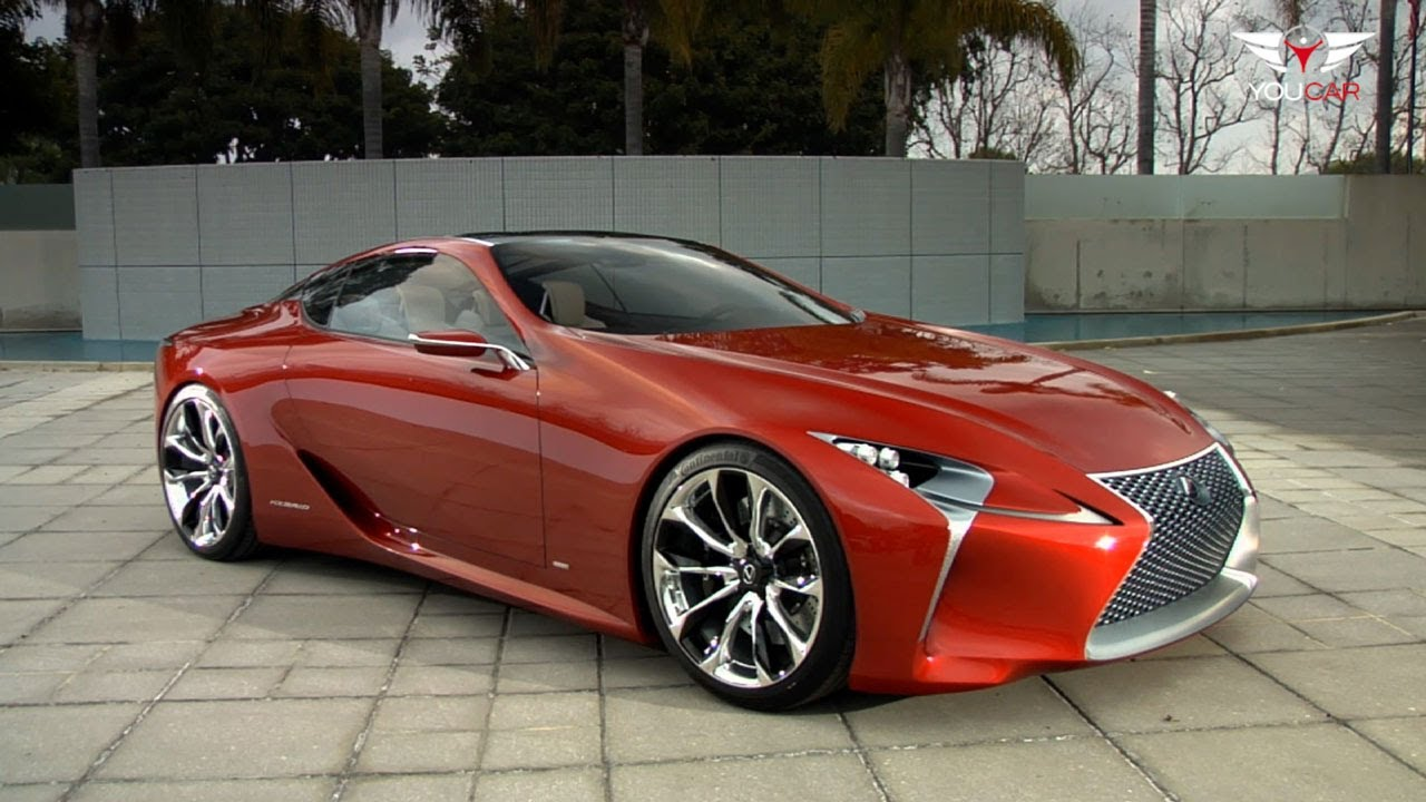 lexus lf lc 2 2 sport concept hybrid youtube. Black Bedroom Furniture Sets. Home Design Ideas
