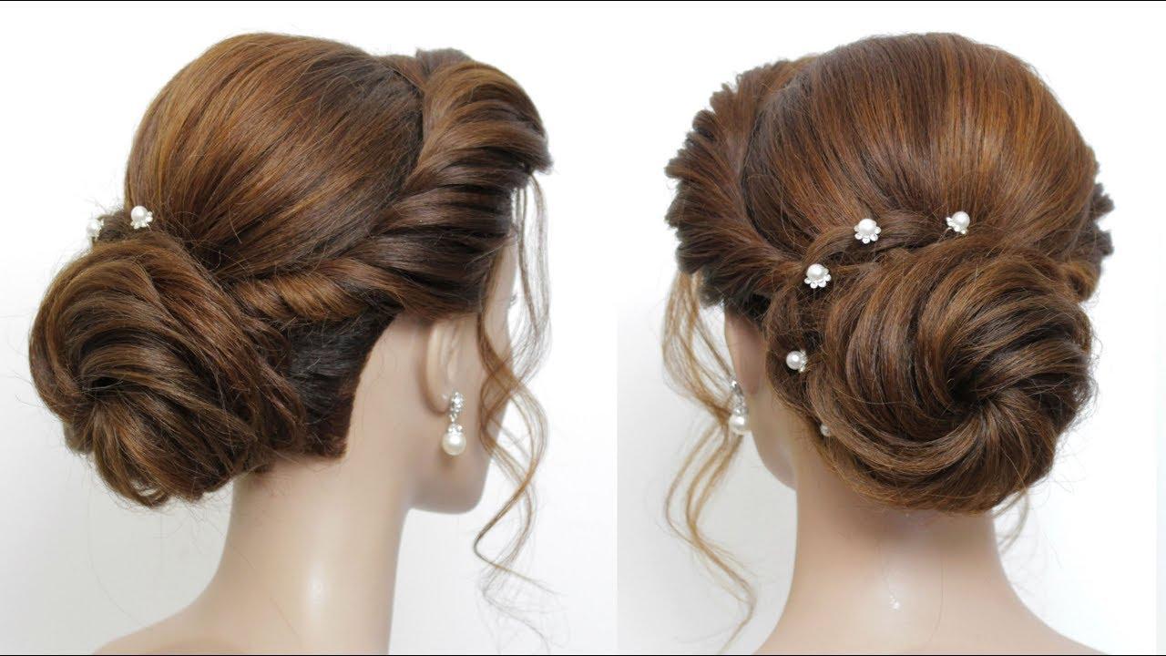 bun hairstyle girls