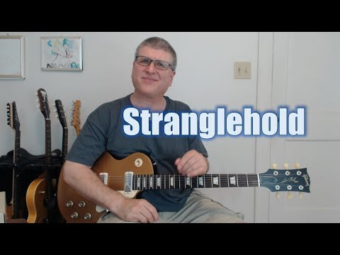 How to Play Stranglehold by Ted Nugent (Intro and 1st Solo with TAB)