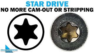 The Star Drive - Types of Screw Drive Styles | Fasteners 101