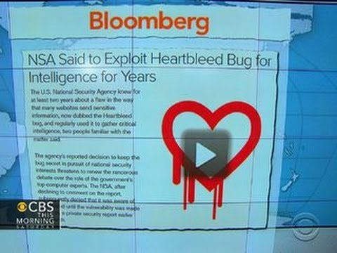Headlines: NSA denies it used Heartbleed bug to capture intelligence