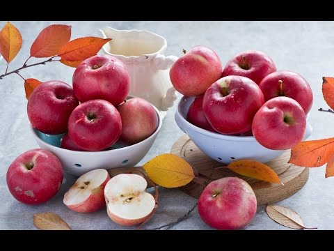 Есть ли в яблоках железо и сколько?