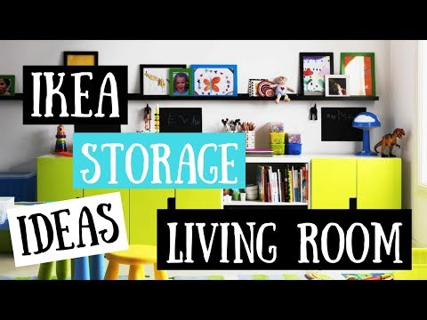 IKEA Storage Ideas Living Room