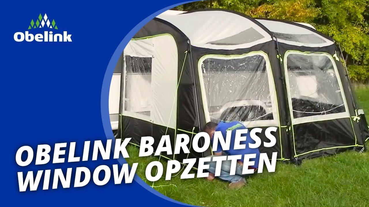 obelink baroness window opzetten instructievideo obelink youtube. Black Bedroom Furniture Sets. Home Design Ideas