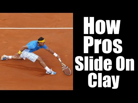 Clay Court Tennis | How To Slide On Clay Like A Pro