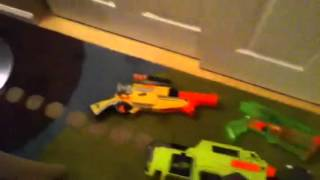 The best Nerf arsenal u will ever see in ur life