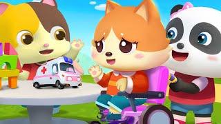 我們是好朋友 | 最新學顏色兒歌童謠 | 卡通 | 動畫 | 寶寶巴士 | BabyBus