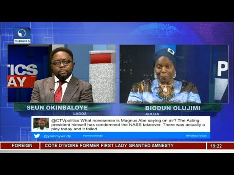 NASS Reconvening: We Decided To Beat APC To Their Game-- Olujimi |Politics Today|