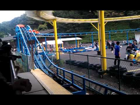 Humanpowered Roller Coaster YouTube - Pedal powered skycycle rollercoaster japan amazing