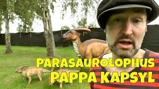 Parasaurolophus - Dinoparken med pappa Kapsyl - en faktavideo om dinosaurier