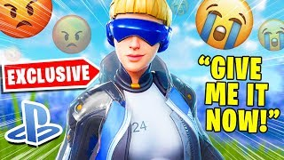 Salty Fortnite Players React To Neo Versa Skin & Scenario Emote