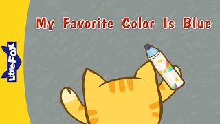 My Favorite Color Is Blue I'm drawing a blue house. A blue house, a...