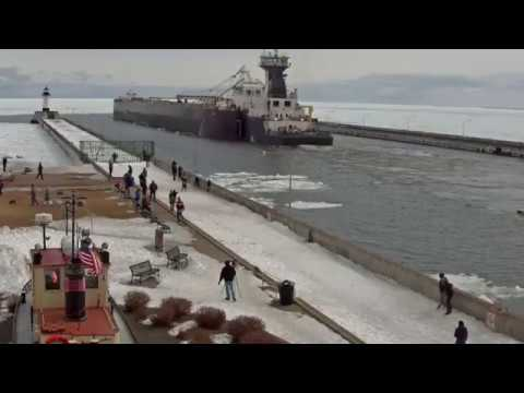 Erie Trader/ Clyde S. VanEnkevort departed Duluth 03/20/18