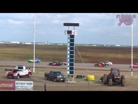 Salina Speedway - 9-30-18 - Mid America Clash 6 - Sport Compact Heat Races