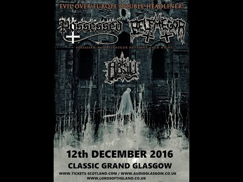 Absu (US) - Live at Classic Grand, Glasgow 12th December 2016 FULL SHOW HD