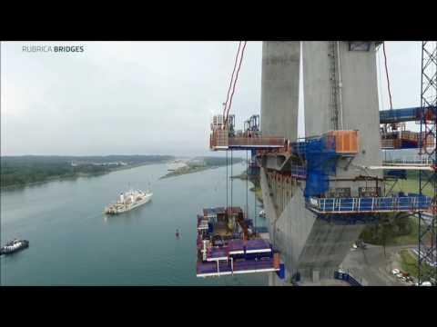 FT First Lifting Atlantic Bridge Panamá