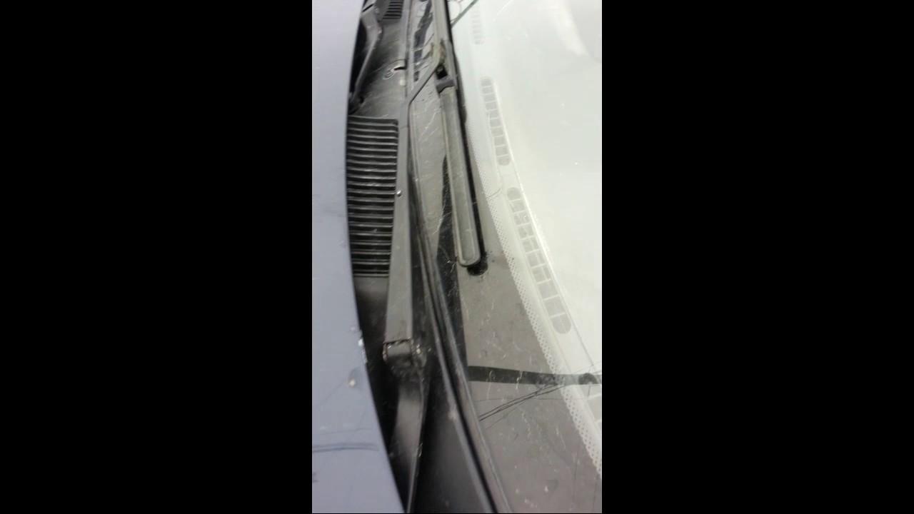 Дворники после установки алюминиевых втулок трапеции Daewoo Sens/Lanos