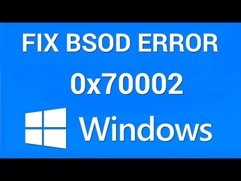 How to Fix Windows Error 0x80070002