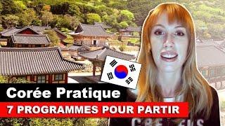 7 PROGRAMMES POUR PARTIR EN CORÉE (OU AILLEURS)