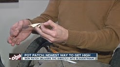 Pot Patch delivers THC or CBD directly to bloodstream