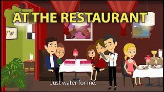 At The Restaurant Conversation