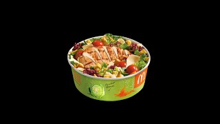 Mcdonald's Grilled Chicken Cesar Salad