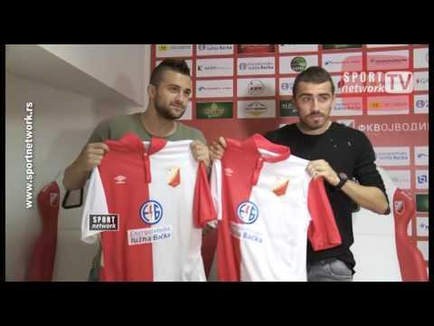 Nikola Aksentijević i Nenad Gavrić danas su zvanično predstavljeni kao novi fudbaleri Vojvodine.